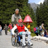 Milan Mach (65) zdoláva trasu Hrebienok – Rainerova chata.