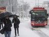 Počasie opäť komplikuje život na Slovensku: Kolaps v Bratislave, pohotovosť v Maďarsku