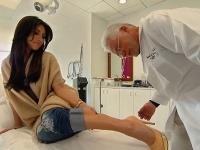 Kim Kardashian u lekára.