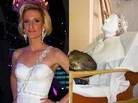 Adela Banášová a jej dve podoby.