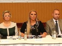 Prvá tlačová konferencia Strany slobodné slovo Nory Mojsejovej