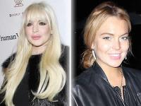 Lindsay Lohan pred tromi mesiacmi a dnes