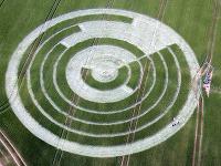 Je obrazec výtvorom UFO?