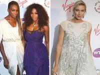 Vyfintené sestry Serena a Venus Williams nechali za sebou aj ostrieľanú Máriu Šarapovovú.
