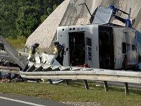 Tragická nehoda českého autobusu