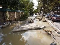 Záplavy v Krasnodarskom kraji na juhu Ruska