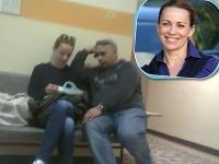 Diana Mórová sa na bratislavskej poliklinike objavila s neznámym mužom.