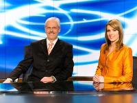 Táto moderátorská dvojica je už minulosťou. Karol Farkašovský opúšťa rady televízie úplne, Miriam Šmahel-Kalisová sa bude objavovať už len v Nočných Televíznych novinách.