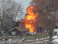 Požiar v chalupárskej oblasti, kde došlo k streľbe