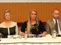 Tlačová konferencia Strany slobodné