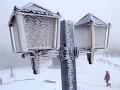 Nočné teploty v Česku klesali až k mínus 35 stupňom
