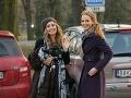 Herečky Danica Jurčová a Eva Sakalová si tiež nenechali ujsť narodeninovú oslavu.