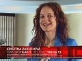 Kristína Zakuciová - členka tímu Pepu Vojtka.