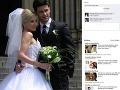 Monika a Peter si skladajú komplimenty aj na sociálnej sieti.