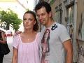 Elena Podzámska prišla s partnerom, tanečníkom Matejom Chrenom.