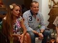 Andera Heringhová a Boris Kollár sa od seba neodtrhli.