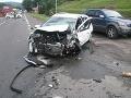 Pri Nitre sa zrazili štyri autá: Medzi šiestimi zranenými chlapček (6) a dievčatko (4)