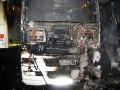 Na horskom priechode Soroška zhorel kamión, požiar likvidovalo desať hasičov