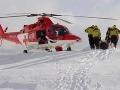 Leteckí záchranári pomáhali v Tatrách: Lavíny zabili dvoch lyžiarov!