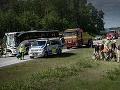 Vo Švédsku sa zrazili dva autobusy a cisterna: Vyše 33 zranených!