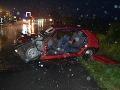 Vážna dopravná nehoda: V Stretave sa ťažko zranili traja dôchodcovia