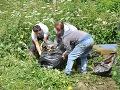 Rómovia si pri Košiciach vyčistili osadu: Odpadom naplnili až 200 vriec!