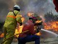 Pri boji s lesným požiarom v Portugalsku zahynula ďalšia hasička!