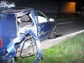 Opitý mladík za volantom spôsobil nehodu: Zabil svojho spolujazdca
