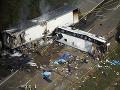 Vážna dopravná nehoda v USA: Zahynulo najmenej osem ľudí!