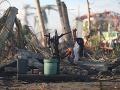 Tajfún Haiyan si vyžiadal už takmer 6000 obetí