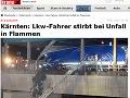 Vážna dopravná nehoda uzavrela tunel Karavanky spájajúci Rakúsko so Slovinskom