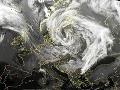 Česko zasiahol orkán: Vietor vyčíňal v Beskydoch i Jeseníkoch