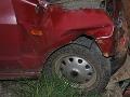 Smrteľná nehoda pri Komárne: Vodič (†54) zrážku s kamiónom neprežil
