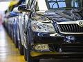 Výroba vozidiel Škoda v