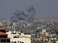 Izraelské nálety na Gazu