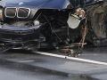 Príčinou nehody BMW bola