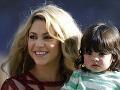 Shakira so synom Milanom