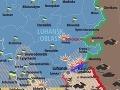 Pozície ukrajinských jednotiek