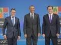Anders Fogh Rasmussen, Barack Obama a David Cameron