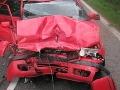 FOTO tragickej dopravnej nehody