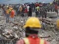 Pád budovy v Nigérii,