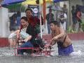 Tropická búrka Fung-Wong zasiahla