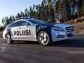 Policajti vo Fínsku jazdia
