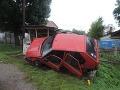 Mladá vodička zdemolovala autobusovú
