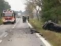 Tragická dopravná nehoda pri Malackách: Po náraze do kamióna vodič uhorel!