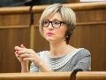 Prekvapenie vo vládnom Smere: Zmajkovičová nefiguruje na kandidátke do volieb