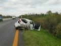 Nehoda na D1 medzi Sencom a Trnavou: Rozsiahle kolóny a zablokovaná diaľnica
