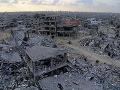 Vojnou zničené pásmo Gazy