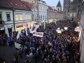 V uliciach Košíc protestovali