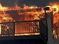 V Bratislave horí byt: